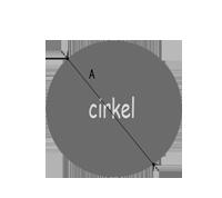 Oppervlakte berekenen - cirkel