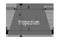 Oppervlakte berekenen - trapezium