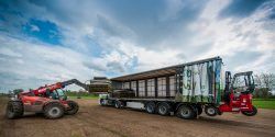 Levering vrachtwagen