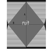 Oppervlakte berekenen - ruit